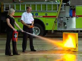 Fire Extinguisher Training in Calgary